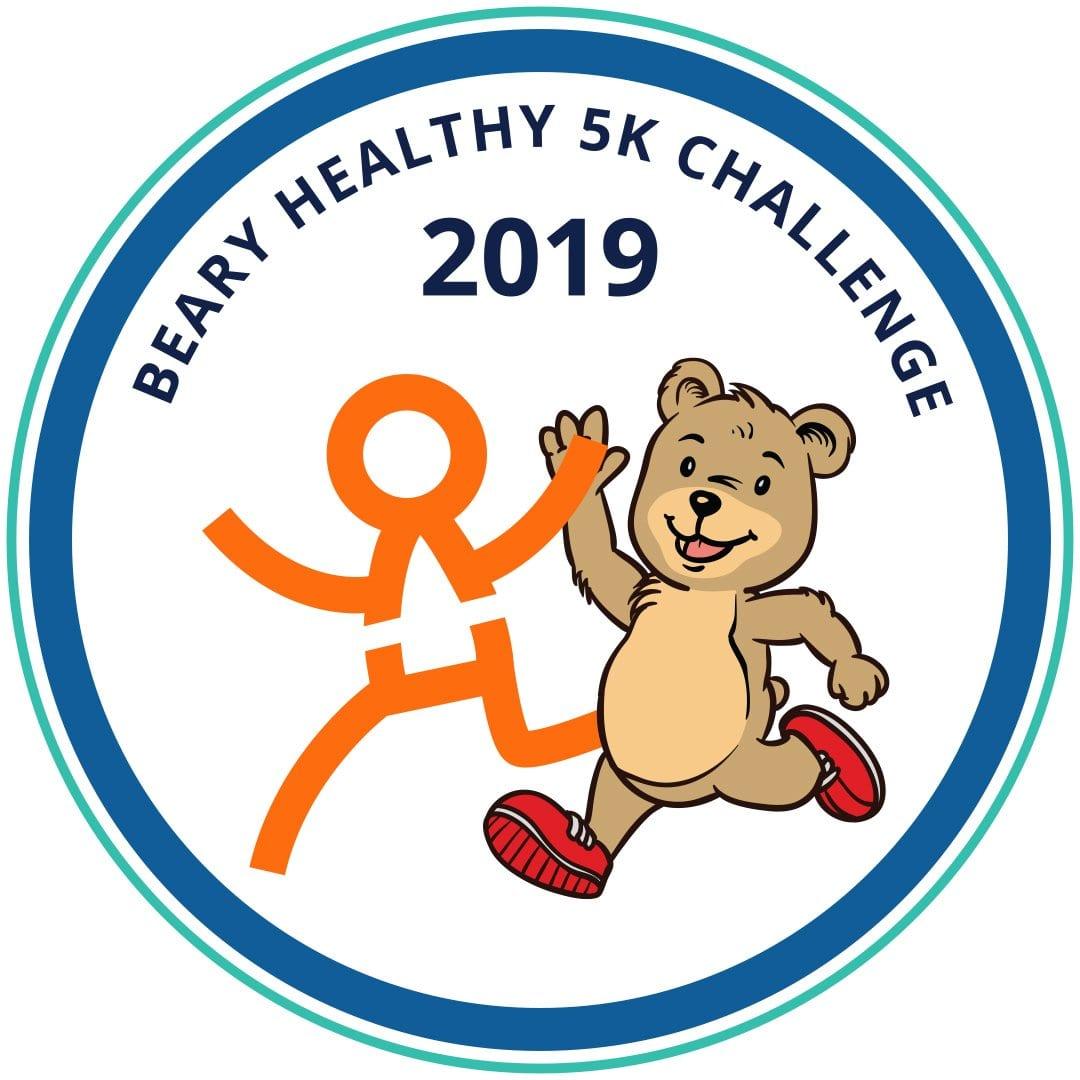 beary healthy challenge logo