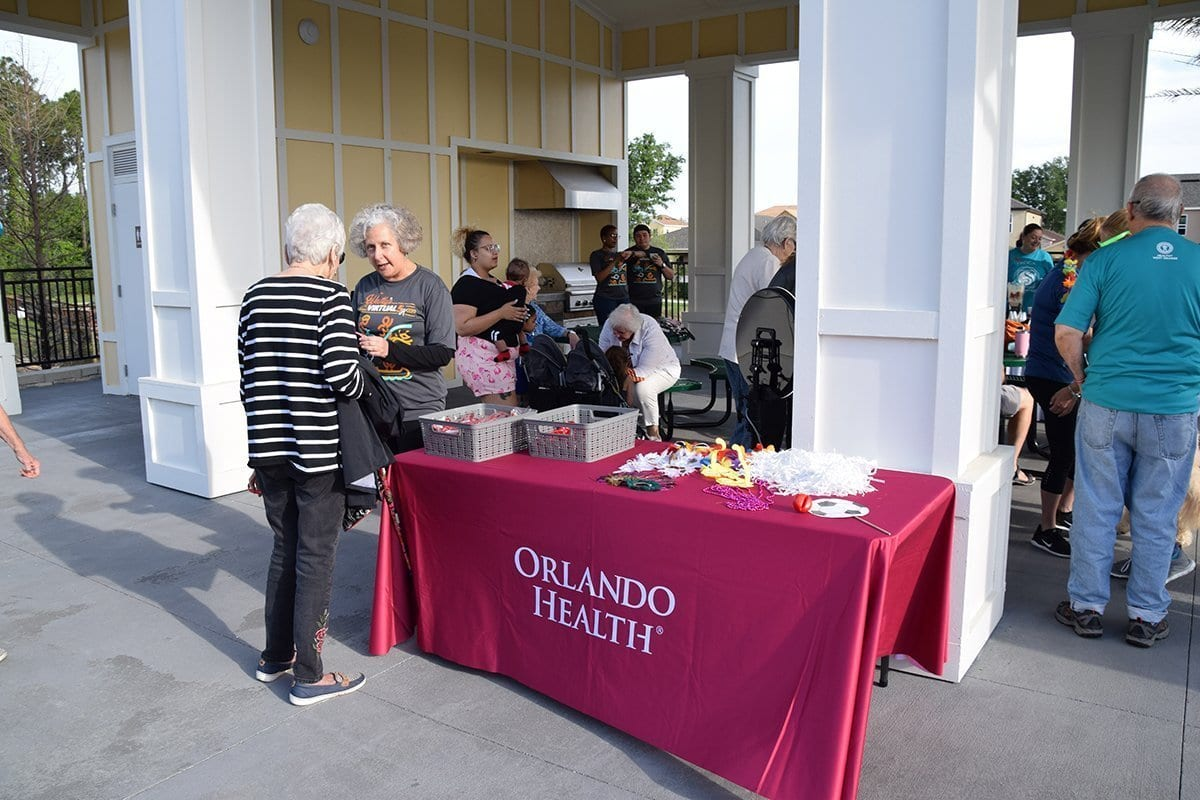 orlando health table