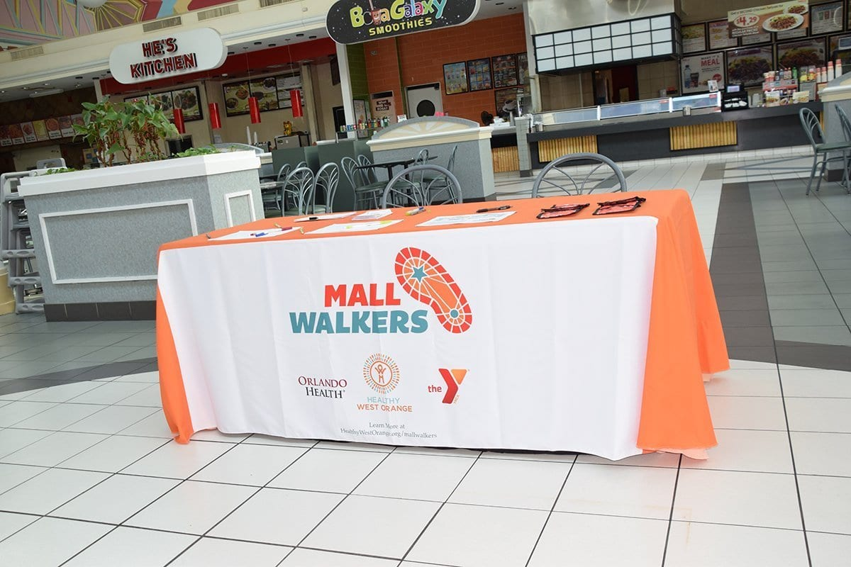 mall walkers table