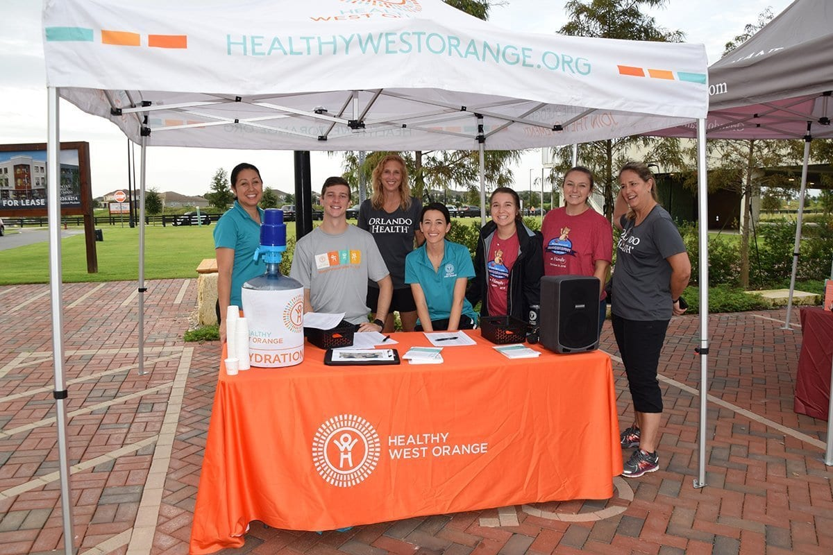 hwo orlando health beary healthy team
