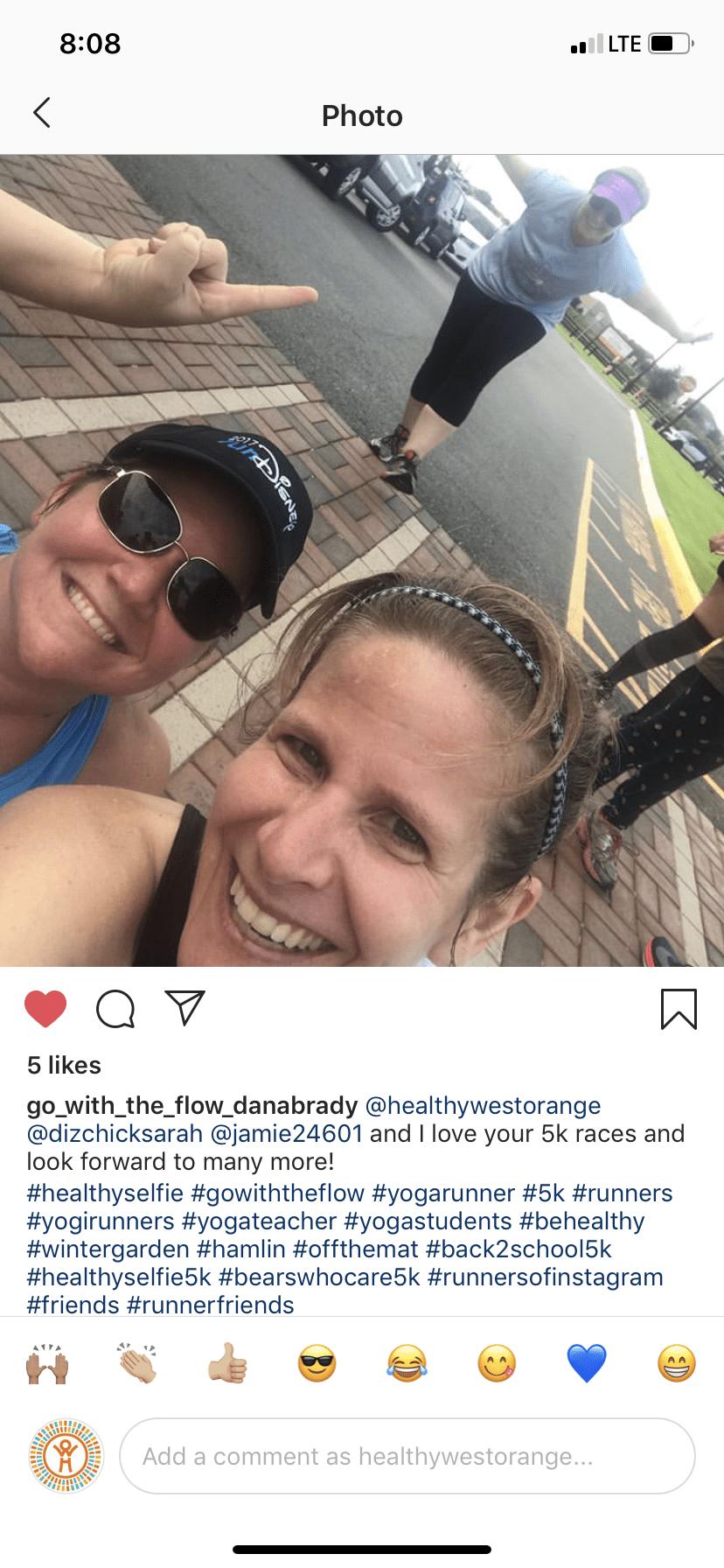 healthy selfie