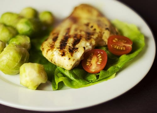 Chicken and Brussel Sprouts