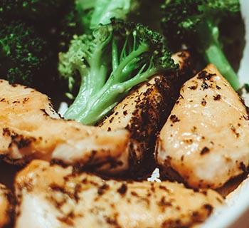 Chicken and Brocolli